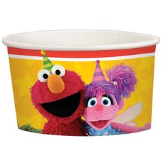 Check out Sesame Street Treat Cups | Sesame Street Birthday tableware & décor for your party from Birthday in a Box from Birthday In A Box