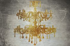 Chandelier Gold 2 - Marmont Hill
