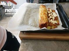 Misafir Sofralarına Yakışacak Patates Yemeği – Nefis Yemek Tarifleri Potato Dinner, Dessert Recipes, Desserts, Meat Recipes, Food And Drink, Potatoes, Nutrition, Diet, Cookies