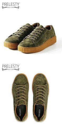 >> купить здесь << Prelesty Классический Мужчины Повседневная Обувь Криперс Luxury Brand Винтаж Замши Обувь Резиновая Подошва Мужчины Зашнуровать Хип-Хоп Человек Квартиры
