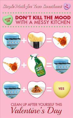 Valentine's Day Recipes & Ideas - There's something extra romantic about making a home-cooked meal for Valentine's Day. If your dinner date gets messy, clean it up.