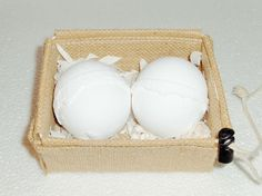 2 BIG Bath Bomb Eucalyptus Peppermint Gift Set Cold flu nasal RUSTIC Aromatherap #handmadeorganic