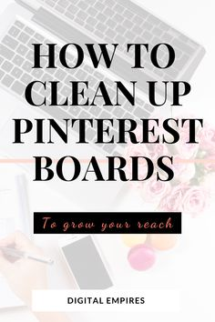 Pinterest Tutorial, Technology Hacks, Pinterest For Business, Useful Life Hacks, Clean Up, Pinterest Marketing, Things To Know, Helpful Hints, Computer Basics