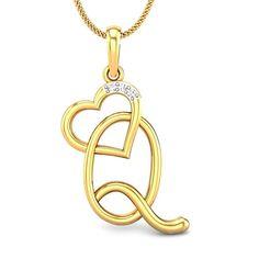 0e6768fc9eeb Q Love Diamond Pendant Online Jewellery Shopping India