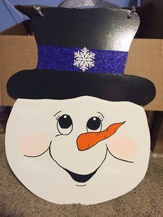 Rhonda s Original Creations Rhonda s Original Creations Rhonda s Original Creations Rhonda s Original Creations Wood Snowman, Snowman Faces, Snowman Crafts, Christmas Projects, Holiday Crafts, Snowman Christmas Decorations, Xmas Ornaments, Christmas Snowman, Christmas Plaques