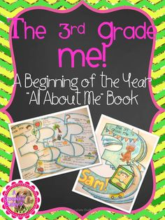 "BACK TO SCHOOL for GRADE 3! Let your students introduce themselves with this Beginning of the Year All About Me ""craftivity"". Kiddos will decorate and record information about themselves on a variety of pages shaped as the number 3!"