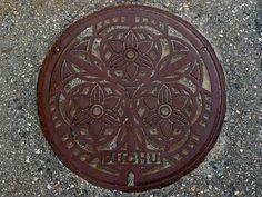 https://flic.kr/p/pxMkEG | Fuchu Toyama, manhole cover (富山県婦中町のマンホール)