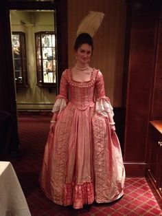 A Dedicated Follower of Fashion: 1770s Pink Sack Gown