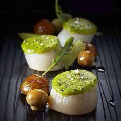 Scallops and Mushrooms | @chefjeannassar