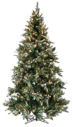 75 Foot Holiday Spice Pre Lit Artificial Christmas Tree ZH 29319 * Want to know more, click on the image.