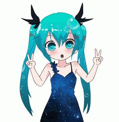 "Vocaloid - Hatsune Miku from ""Deep Sea Girl"""