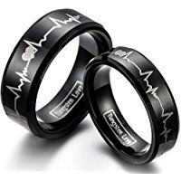 Promise rings are a symbol of commitment or devotion between couples. Think of them as a token of love,that shows you are exclusively dating, and it's a way to
