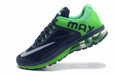 Мужские Nike Air Max 2013 Черный/Лайм
