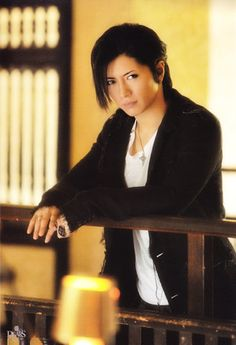 Gackt. Oh man.. is he beautiful!