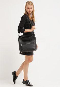 Abro - Håndveske - black/nickel Leather Skirt, Skirts, Accessories, Black, Fashion, Moda, Leather Skirts, Black People, Skirt