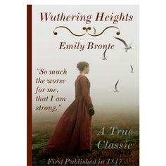 Wuthering Heights Book Cover, created by queenrachietemplateaddict on Polyvore