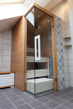 Find more information at the webpage above press the link for further options . home sauna cost Modern Saunas, Sauna Design, Sauna Room, Master Bath, Tiny House, New Homes, Loft, Sauna Ideas, Airbnb Ideas