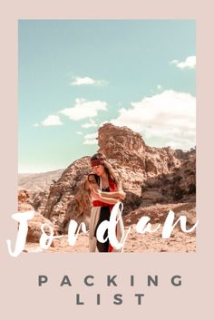 What to wear in Jordan as a woman? Here is my detailed Jordan packing guide for women / Jordan Packing list for women #jordan #femaletravel #middleeast #travel #nohurrytogethome #jordantravel #petra