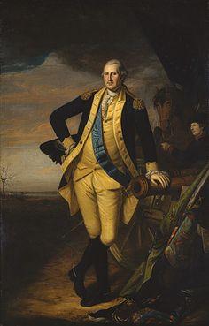 Charles Willson Peale: George Washington (97.33) | Heilbrunn Timeline of Art History | The Metropolitan Museum of Art