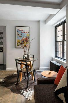 Mobile Wohnwand In Einer Kleinen Wohnung In New York