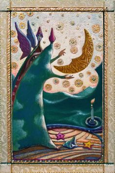 Buy TAROT'S MOON - ( framed), Mixed Media painting by Carlo Salomoni on Artfinder. Discover thousands of other original paintings, prints, sculptures and photography from independent artists.