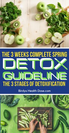 This spring we want to be in maximum shape and for this, our body needs a complete detox program. It is an ideal way to eliminate the toxins accumulated during the winter and to regain our silhouette. In this article, I will present the ultimate guideline to the detoxification process in the spring.