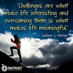 Do you feel like something is getting in the way of reaching your goals? Challenge it and be on the path to overcome!