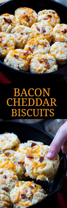 spicy southern kitchen bacon cheddar biscuits bacon cheddar biscuits ...
