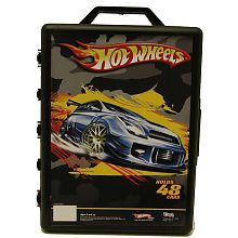 This is a fun way to keep track of your Hot Wheels diecast car collection! The Hot Wheels 48 Car Carry Case is all plastic molded with high gloss finish.Note: Colors and . Matchbox Car Storage, Matchbox Cars, Hot Wheels Birthday, Christmas Gifts For Kids, Christmas Presents, Christmas Ideas, Toy Organization, Organizing Ideas, Gifted Kids