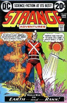 Strange Adventures 242 Adam Strange DC comics Bronze age