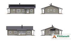 Проект дома KOTIONNI 126 C
