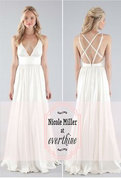 Nicole Miller Bridal..perfect reception dress!