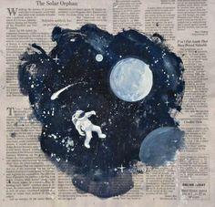 astronaut illustration tumblr - Google Search
