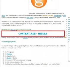 How to Insert Ads into Middle Part of Post Content  To Earn More MONEY