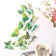 DIY Butterfly Wall Stickers Home Decor Vinyl Art Mural Decal Removable Diy Butterfly, 3d Butterfly Wall Stickers, Wall Stickers Home Decor, Diy Stickers, Decorative Stickers, Family Room Decorating, Diy Decorating, Wall Decal Sticker, 3d Wall