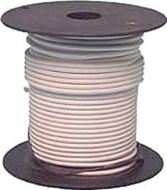 Wire Prim 12ga 1000 Wht By East Penn 284 09 12 Gauge X
