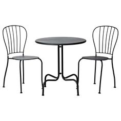 I have this bistro set that we could dress up and use in the kitchen maybe???  LÄCKÖ Bistro set - IKEA