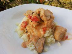 Κοτόπουλο a-la creme με Μανιτάρια Shiitake (Λεντινούλα)   MARI PLATEAU   Bloglovin'