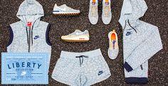 Nike x Liberty London célèbrent larrivée du Printemps!