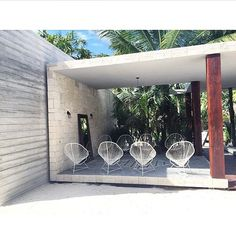 Clean lines and modern architecture. Sanara Tulum
