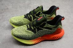 dba6b70e66602 adidas Alphabounce Beyond Yellow Solar Red Black Running Shoes B27815-3  Black Running Shoes