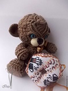 "Educational materials are handmade.  Master Class ""Fifi - Bears"" (description of knitting).  Iriss.  Knitted fantasy.  Fair Masters.  yarn"