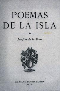 Poemario Poemas de la islas, Barcelona, Altés, 1930.