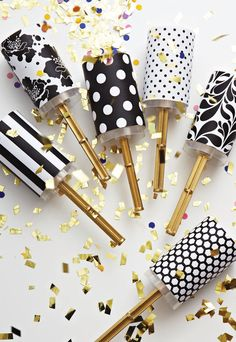 NOAH'S Event Venue | DIY Wedding Confetti Poppers + Free Downloadable Template