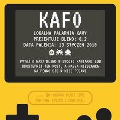 ... bo #kawa musi być palona tylko lokalnie.      #KAFO data palenia: 13 styczeń 2018 (blend 8.2)