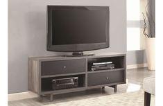 Flavia Mid-Century Modern TV Stand