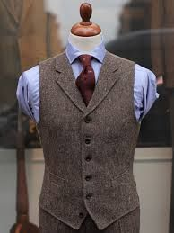 Image result for tweed waistcoat