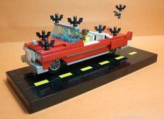 I suppose this would be the batmobile. #Bat #Batman #Car #Lego