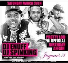 Hot 97 DJ Enuff Invades Jaguars3 @ Jaguars 3 Saturday March 30, 2013