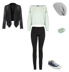 """""""Unbenannt #919"""" by littlewonder2504 ❤ liked on Polyvore featuring Converse, rag & bone, T By Alexander Wang, Ruby Rocks and UGG Australia"""